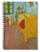 Bedroom In Arles Spiral Notebook