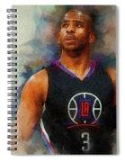 Chris Paul Spiral Notebook