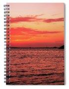 Cool Autumn Evening Spiral Notebook