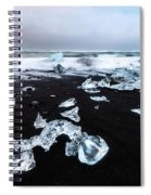 Diamond Beach Spiral Notebook