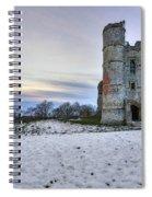 Donnington Castle - England Spiral Notebook