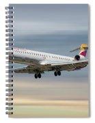 Iberia Regional Bombardier Crj-1000 Spiral Notebook