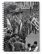 60th Anniversary Of Russian Socialist October Revolution Spiral Notebook