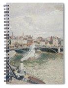 Morning  An Overcast Day  Rouen  Spiral Notebook