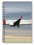 Norwegian Boeing 737 Max 8 Spiral Notebook