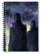 5 People Spiral Notebook