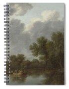 River Scene  Spiral Notebook