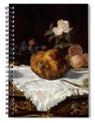 The Brioche  Spiral Notebook