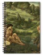 The Garden Of Pan Spiral Notebook