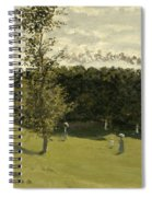 Train In The Countryside  Spiral Notebook
