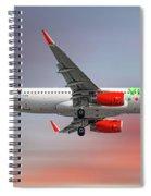 Vivaaerobus Airbus A320-232 Spiral Notebook