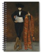 Young Man In The Costume Of A Majo  Spiral Notebook