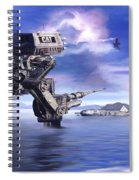 501st Mech Defender Spiral Notebook