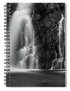 Hepokongas Waterfall Spiral Notebook