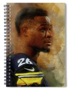 Le'veon Bell.pittsburgh Steelers. Spiral Notebook