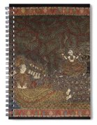 Mata Ki Pachedi Spiral Notebook