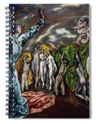 The Vision Of Saint John  Spiral Notebook