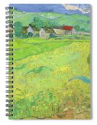 View Of Vessenots Near Auvers Spiral Notebook