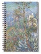 Villas At Bordighera  Spiral Notebook