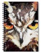 Eurasian Eagle Owl Spiral Notebook
