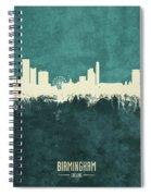Birmingham England Skyline Spiral Notebook