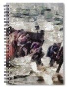 D Day Landings, Wwii Spiral Notebook