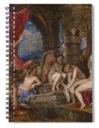 Diana And Actaeon  Spiral Notebook