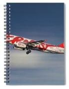 Ernest Airbus A320-233 Spiral Notebook