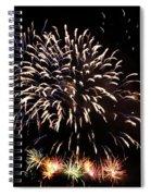 Firework Display Spiral Notebook