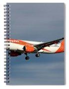 Easyjet Airbus A320-214 Spiral Notebook