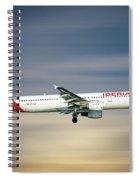 Iberia Airbus A321-212 Spiral Notebook