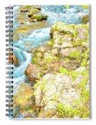 Pocono Mountain Stream, Pennsylvania Spiral Notebook