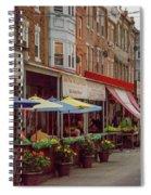 9th Street Italian Maket In South Philadelphia Spiral Notebook