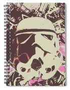 A Battle Storm Spiral Notebook
