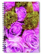 Lv With Lilac Roses  Spiral Notebook