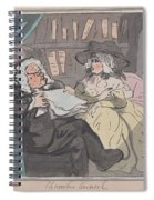 A Counselor's Opinion After He Had Retired From Practice After Thomas Rowlandson British, London 17 Spiral Notebook
