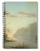 A Creek In St. Thomas Virgin Islands, 1856 Spiral Notebook