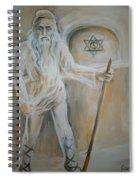 A Dacian Priest At The Sinca Veche Temple Spiral Notebook