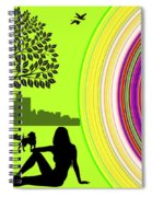 A Day In The Park Spiral Notebook