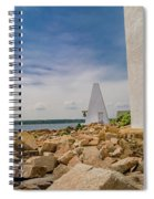 A Different View Goat Island  Spiral Notebook