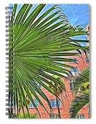 A Don Cesar Palm Frond Spiral Notebook