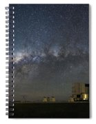 A Galactic View From The Observation Deck Spiral Notebook