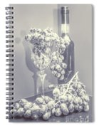 A Grape Gala Spiral Notebook