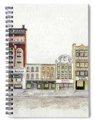 A Greenwich Village Streetscape Spiral Notebook