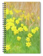 A Host Of Daffodils Spiral Notebook