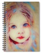 A Little Angel  Spiral Notebook