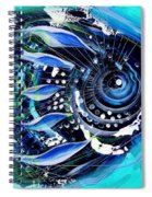 A New Breed In Blues Spiral Notebook