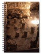 A Room Inside Masada Spiral Notebook