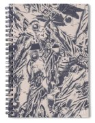 A Souvenir Of Statues Spiral Notebook