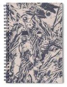 A Souvenir Of Statues Spiral Notebook